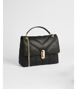 AYAHLIN Puffer quilted leather crossbody bag