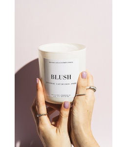 Lace & Leather Candles BLUSH Candle