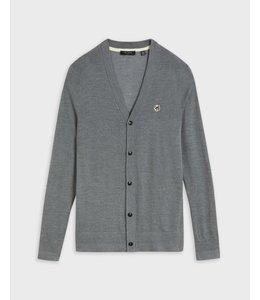 STEPNEY - grey core cardigan -