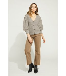 GENTLE FAWN CICELY CARDIGAN - HEATHER -