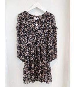 PRINTED FLOWER DRESS -