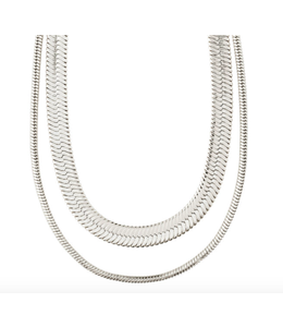 Reconnect 2-in-1 Necklace -Silver