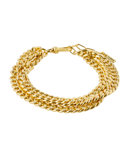 Pilgrim Authenticity Bracelet Gold