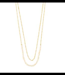 Native beauty Necklace- Gold