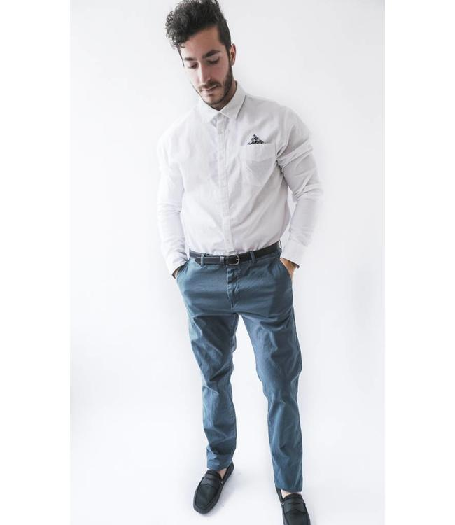 SCOTCH AND SODA CLASSIC GARMENT CHINO - NAVY