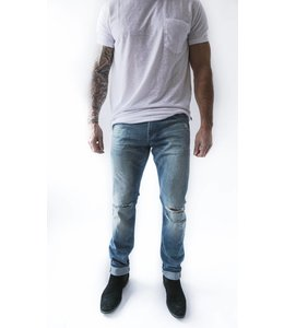 7 FOR ALL MANKIND PAXTYN HOLES SELV - 9023 - BLUE