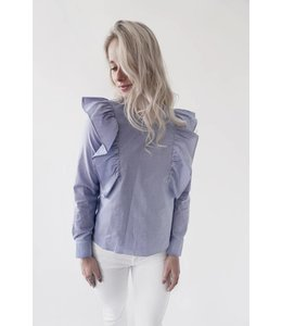 TUNIC - 582 - BLUE WHITE