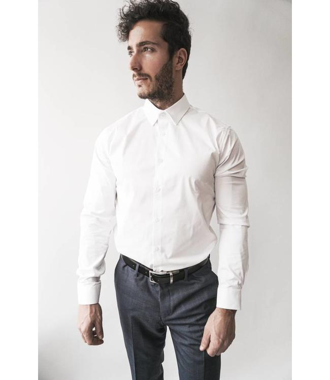 TIGER OF SWEDEN BRODIE SHIRT -  WHITE -