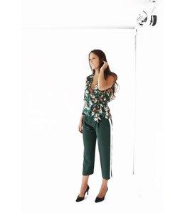 PARKER WEBSTER COMBO PANTS - GREEN