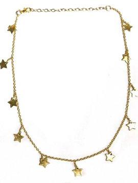 GOLDEN ALL STAR CHOKER