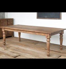 Old Pine Farm Table, Naural - 92.5 Inch x 43 Inch x 31 Inch