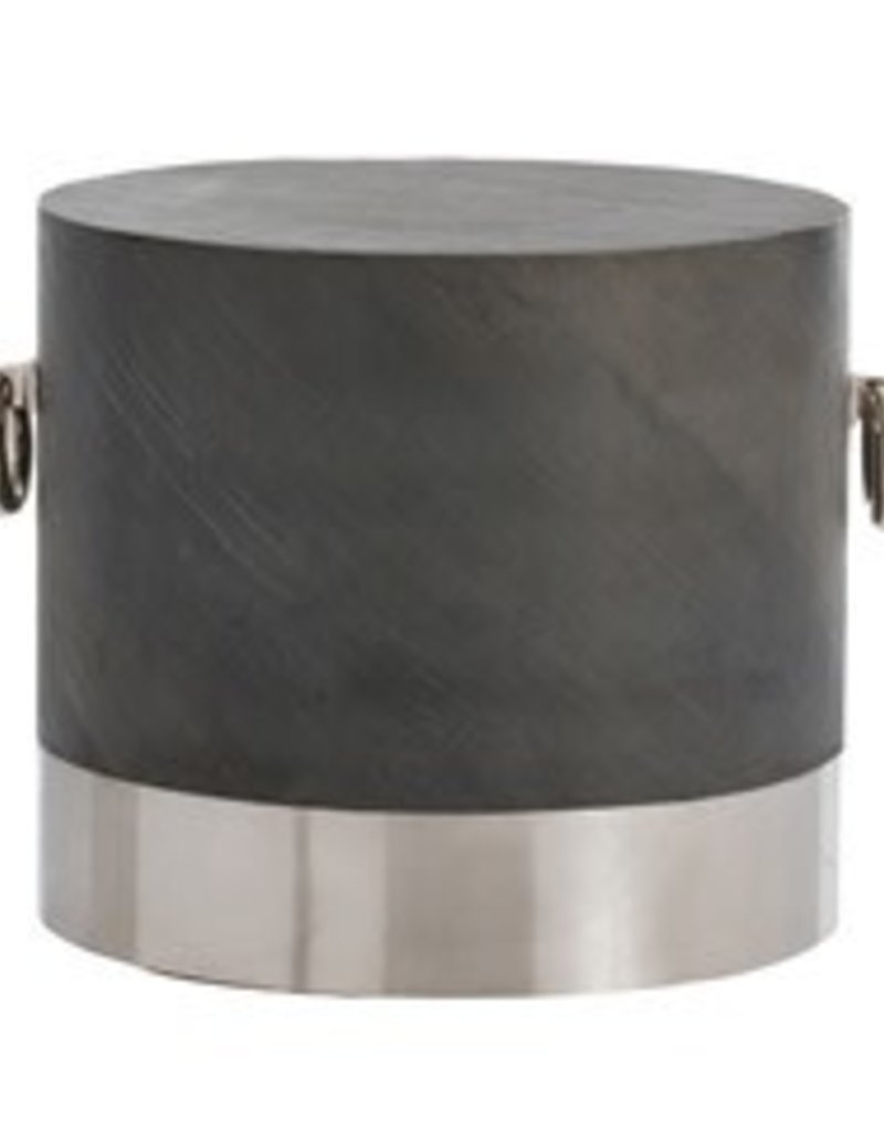Neil Side Table, Gray - 22.5 Inch x 26.5 Inch x 20 Inch