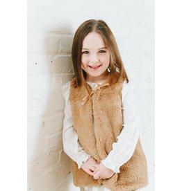 ELIZABETH CATE Faux Fur Vest