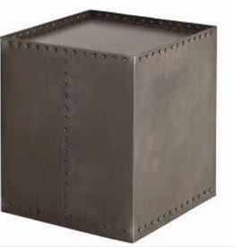 Richland Side Table, Grey - 19.5 Inch x 19.5 Inch x 22 Inch