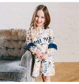 ELIZABETH CATE Double Ruffle Dress