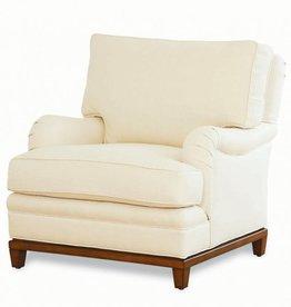 KRAVET Allegro Deep Chair, Flannel - 36.5 Inch x 38.5 Inch x 37 Inch