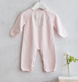 ALBETTA Bunny Knit Babygrow - Cashmere Blend