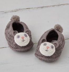ALBETTA Crochet Panda Booties