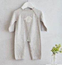 ALBETTA Sheep Knit Babygrow  - Cashmere Blend