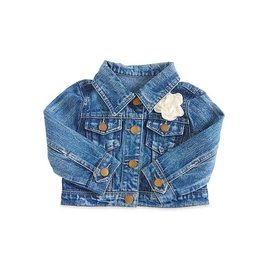 BABY Girl Faded Wash Blue Jean Jacket