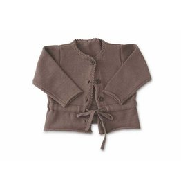 BABY Girl's Brown Cardigan