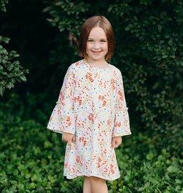 ELIZABETH CATE Bell Sleeve Dress