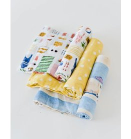 LITTLE UNICORN Swaddle Set - Beach