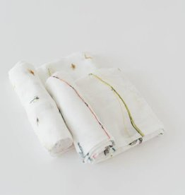 LITTLE UNICORN Deluxe Swaddle Set 2 pack - Gone Fishing