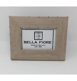 BELLA FIORE LARGE FRENCH DOT WITH CREAM BOW FRAME