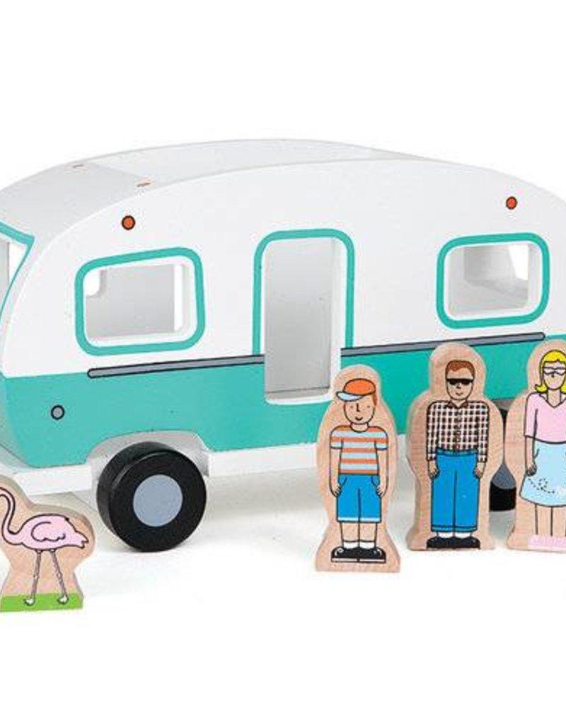 JACK RABBIT CREATIONS Glamping Camper:  Magnetic Camper
