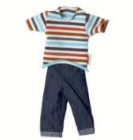 MAILEG Ginger Brother Size 1 T-Shirt and Jeans