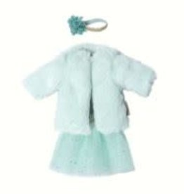 MAILEG Ginger Sister Size 1 Dance Dress with Coat