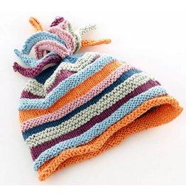 PEBBLE CHILD Organic Rainbow Hat