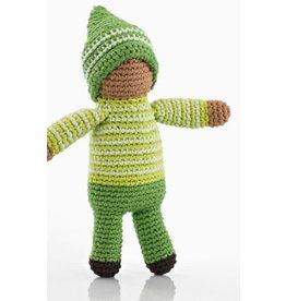 PEBBLE CHILD Fern Green Pixie Rattle