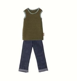 MAILEG Ginger Dad Size 1 Pants and Slip Over