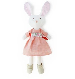 "HAZEL VILLAGE Emma Rabbit in Liberty of London ""Clover"" Dress"