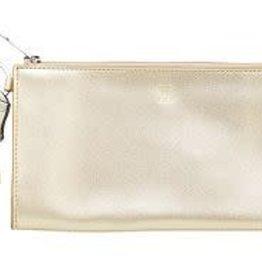 O-VENTURE Ossential Card Case Plus Signature Leather- Gold Rush