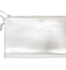 O-VENTURE Ossential Card Case Plus Signature Leather- Quick Silver