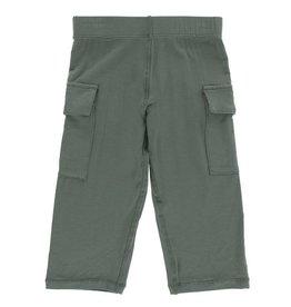 KICKEE PANTS Cargo Pant - Succulent