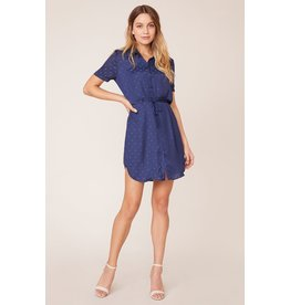 BB Dakota - Dot It Right Shirt Dress