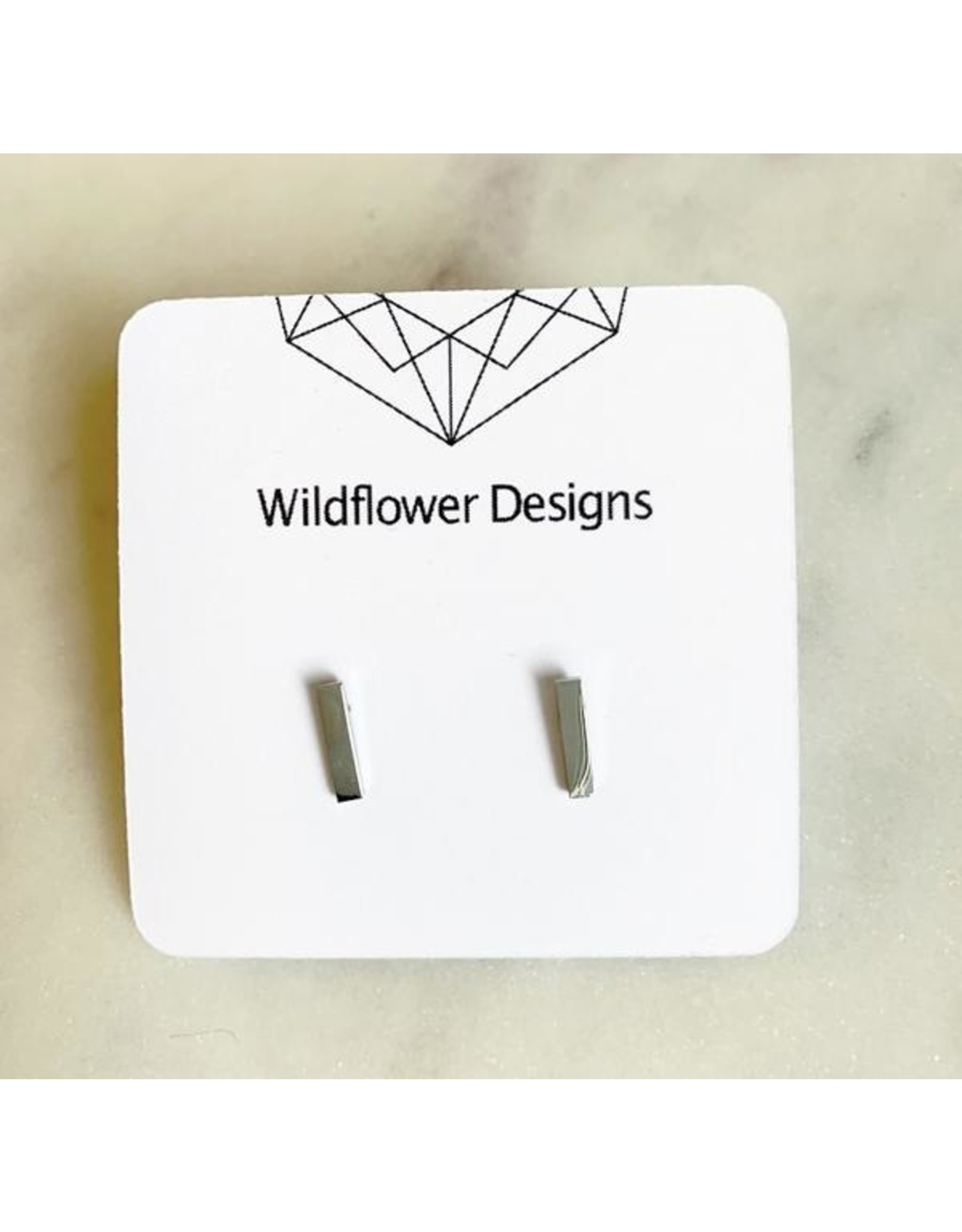 wildflower designs - Bar - Stainless Steel Studs