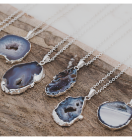 Glee - Druzy Agate Necklace