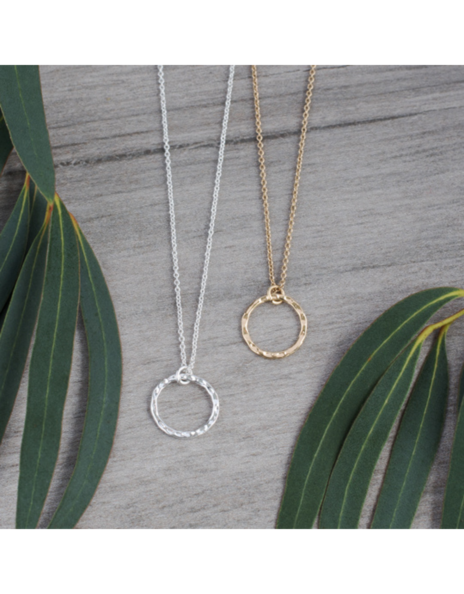 Glee - Simple Circle Necklace