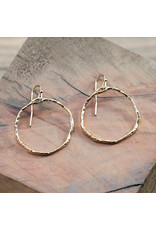 Glee - Sacred Hoop Earrings