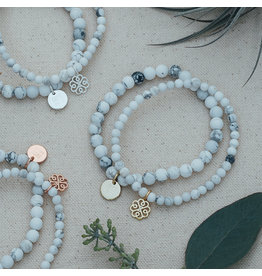 Glee Stackem Up Bracelets - Howlite