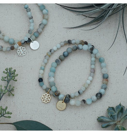 Glee - Stackem Up Bracelets - Amazonite