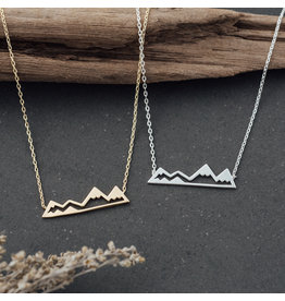 Glee - Olympic Mountain Necklace