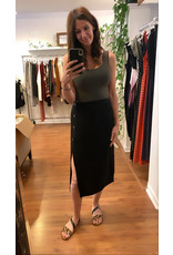 RD Style - Linen Blend Skirt