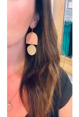 Saige Collective - Harvest Full Moon Earrings