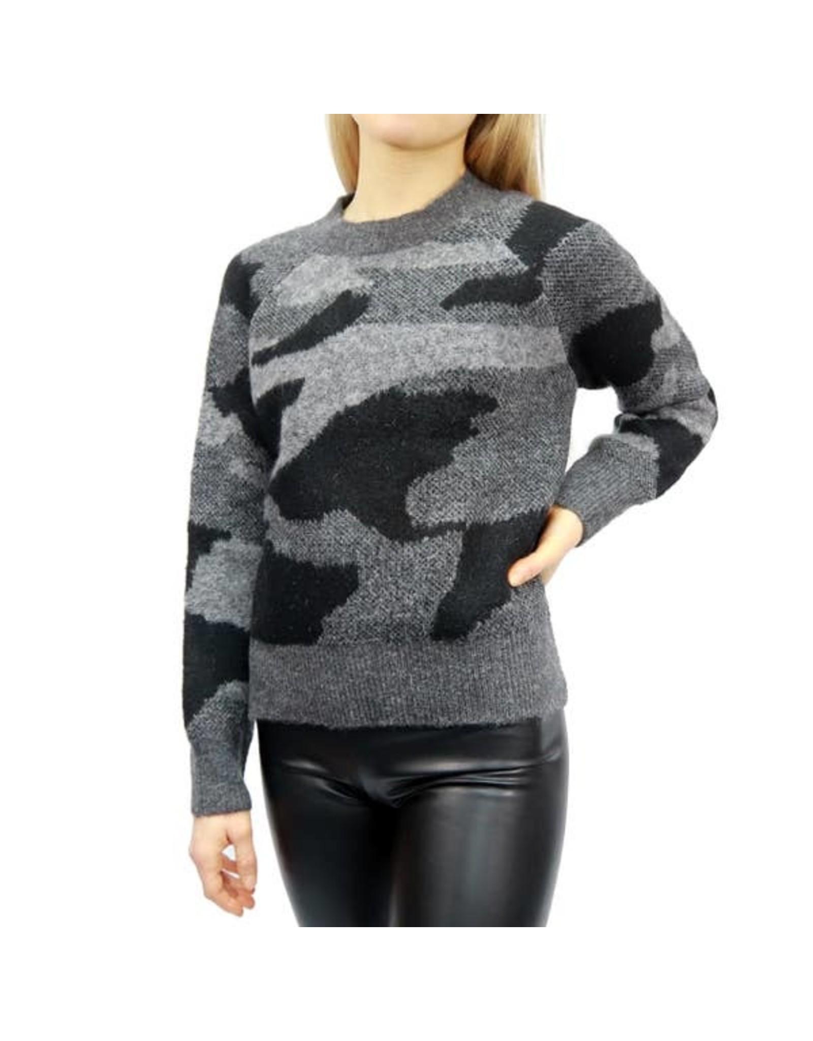 RD Style - Camo Crew Sweater